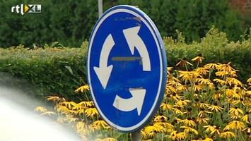 RTL Nieuws Minister wil af van onduidelijkheid bij rotondes