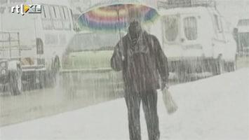 RTL Nieuws Chaos in Zuid-Afrika door sneeuw