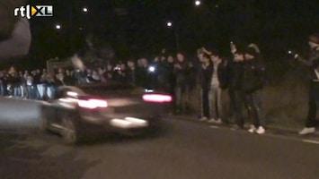 RTL Nieuws Man springt over racende Lamborghini