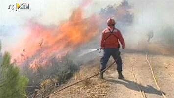 RTL Nieuws Bosbranden Algarve nog steeds niet onder controle