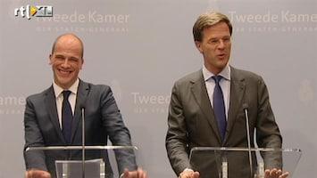 RTL Nieuws Samsom: Rutte eet ontzettend veel snoep