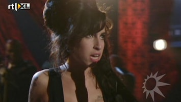 RTL Boulevard Amy Winehouse nooit eerder vertoond beeld van MTV