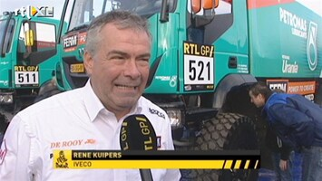 RTL GP: Dakar Pre-proloog Interview Rene Kuipers