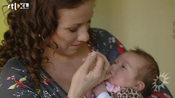 RTL Boulevard Babybezoek Jessica Mendels