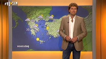 RTL Nieuws Vakantieweer: prachtig, maar minder warm