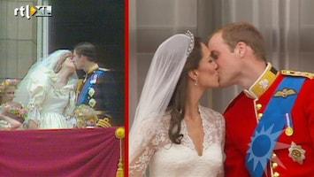 RTL Boulevard Vergelijking huwelijksdag Diana en Kate
