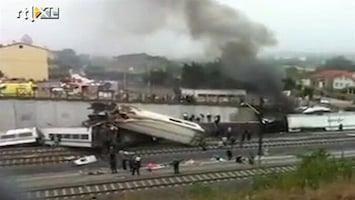 RTL Nieuws Omvang treinramp Spanje steeds meer duidelijk: zeker 77 doden