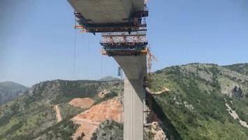 China timmert aan de (snel)weg in Montenegro