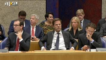 RTL Nieuws Moeizame toenadering coalitie en oppositie