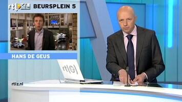RTL Z Nieuws 09:00 Cijfers UPS illustratief voor hele economie