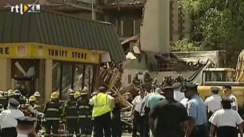 RTL Nieuws Eerste beelden ravage Philadelphia