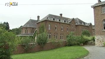 RTL Nieuws Een kijkje bij het toekomstige klooster van Michèle Martin