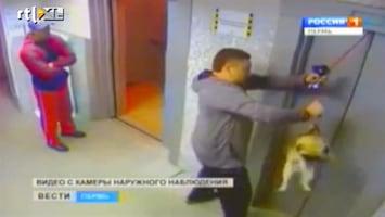 Editie NL Man redt hond van dood
