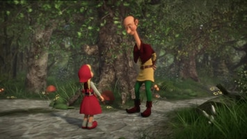 Sprookjesboom Twee Kleine Duimpjes