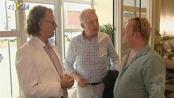 RTL Boulevard 'De Drie Dre's' repeteren voor het Koningsbal