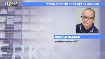 RTL Nieuws Econoom: Hoge werkloosheid was te verwachten