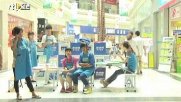 RTL Nieuws Alle hoop gevestigd op de winkelende Chinees