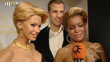 RTL Boulevard Sylvie van der Vaart onthult wassenbeelden in Madame Tussauds