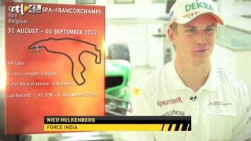 RTL GP: Formule 1 Rondje circuit GP Belgie
