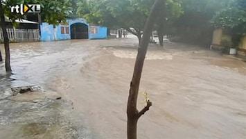 RTL Nieuws Mexicaanse straten in rivieren veranderd