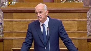 RTL Nieuws Dag van waarheid voor Papandreou