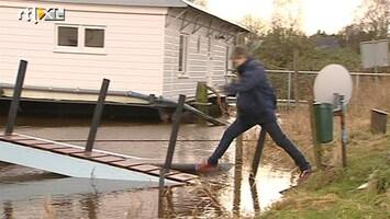 RTL Nieuws Wateroverlast dreigt in Noord-Nederland