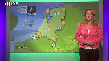 RTL Nieuws 'Tot en met dinsdag geen wolkje aan de lucht'