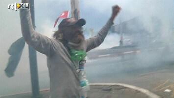 RTL Nieuws Traangas op Taksimplein