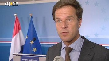 RTL Nieuws Rutte tevreden over 'Grieks' Euro-akkoord