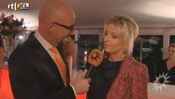 RTL Boulevard Society Watcher Maik de Boer bij de Jewel Awards