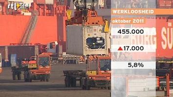 RTL Nieuws Werkloosheid bijna zes procent