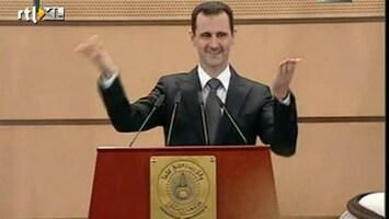RTL Nieuws Syriërs boos na toespraak Assad