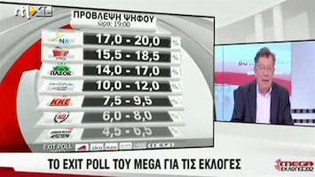 RTL Nieuws Griekse regering afgestraft door kiezers