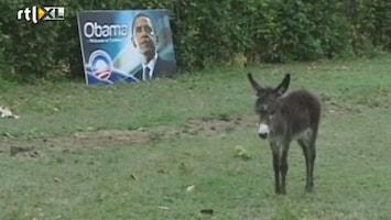 RTL Nieuws Ezel mag niet mee met Obama