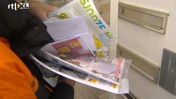 RTL Nieuws Bezuiniging: post niet meer op maandag bezorgd