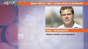 RTL Nieuws 'Olieboycot voor Nederland niet zo erg'