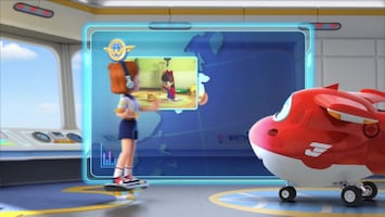 Super Wings Kat in een doos