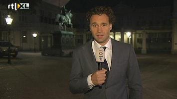 RTL Nieuws Voor heet eerst een koning in de Gouden Koets