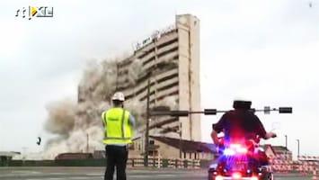RTL Nieuws Gebouw van 17 etages binnen 10 seconden gesloopt