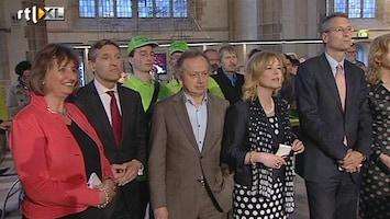 RTL Nieuws Lijsttrekkersdebat CDA zonder vuur