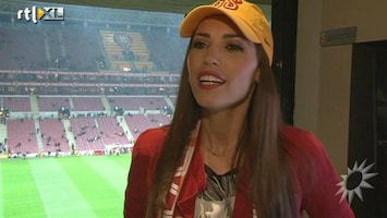 RTL Boulevard Yolanthe over eerste wedstrijd Wesley Sneijder
