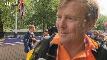 RTL Nieuws Prins Willem-Alexander: 'Goud met gouden rand'