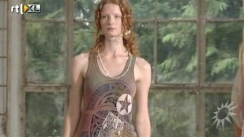 RTL Boulevard Fashion Label People of the Labyrinths: Roodharige modellen openen Fashion Week