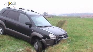 RTL Nieuws Ongelukken door spekglad wegdek in noorden