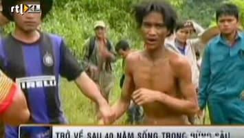 RTL Nieuws Zo leefden de Vietnamezen die 40 jaar in een bos woonden