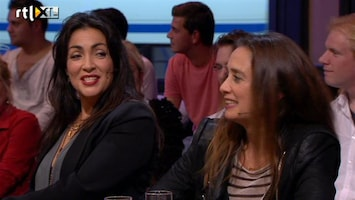 RTL Late Night Humberto onder de indruk van Loïs Lane