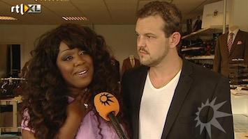 RTL Boulevard Berget Lewis Winnares Beste Zangers van Nederland in huwelijksbootje