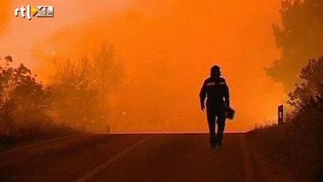 RTL Nieuws Felle bosbrand teistert Kroatisch eiland