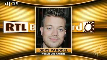 RTL Boulevard Gers Pardoel blij met Kids' Choice Award