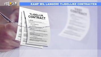 RTL Nieuws Kamp: langer werken met tijdelijk contract